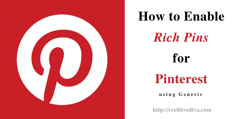 How to enable Rich Pins for Pinterest for blog posts