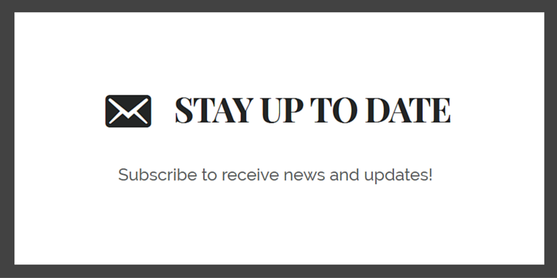 add email icon to enews extended widget title(3)