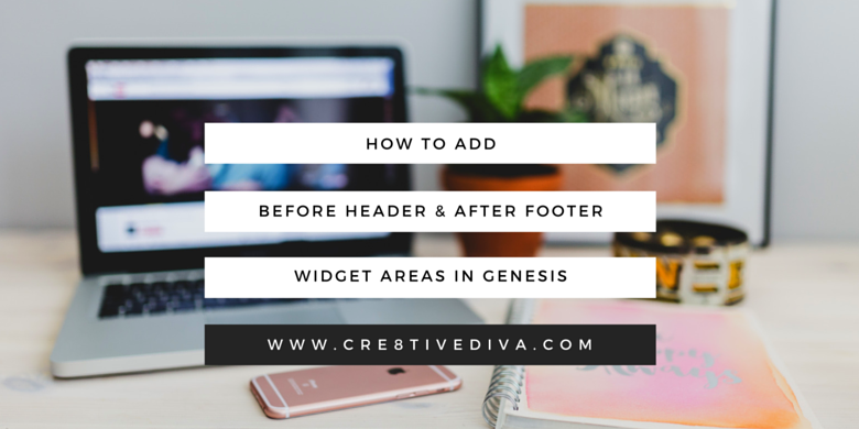 Add Banner Area Before the Header and Below the Footer in Genesis