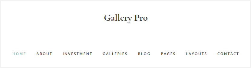 Gallery Pro: How to Enable the WordPress Site Description (Tag Line)