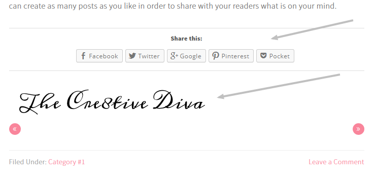 Add Your Signature to Your Blog Posts