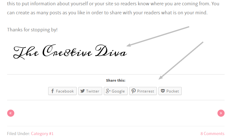 Add Your Digital Signature to Your Blog Posts