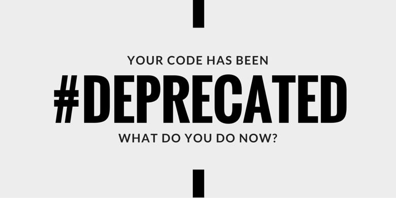 #deprecated