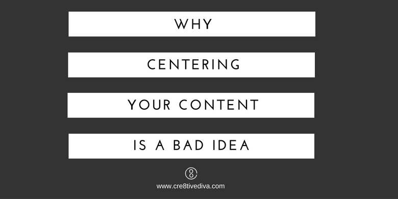 centering your content
